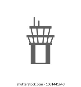 ATC tower icon vector. Symbol for your web site design, logo, app, UI. Vector illustration, EPS