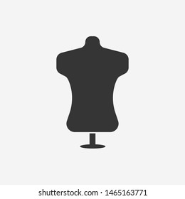 Atelier icon. Tailor, fashion, sewing icon. New trendy atelier vector illustration symbol.