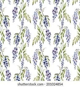 atercolor, wisteria, texture