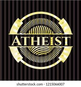 Atheist gold badge