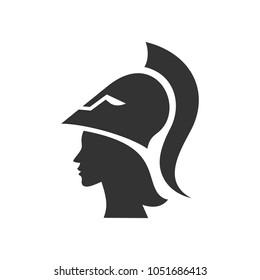 Athena symbol vector logo.