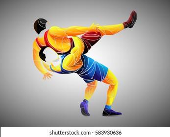 athlete Wrestling