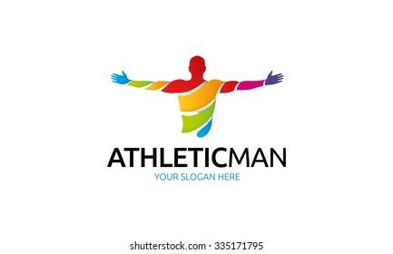 Athletic Man Logo