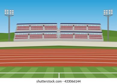 Athletic Stadium vector