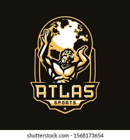 Atlas Sport Club Logo Design