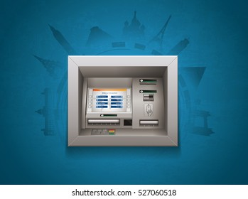 ATM - Automated teller machine - worldwide finances