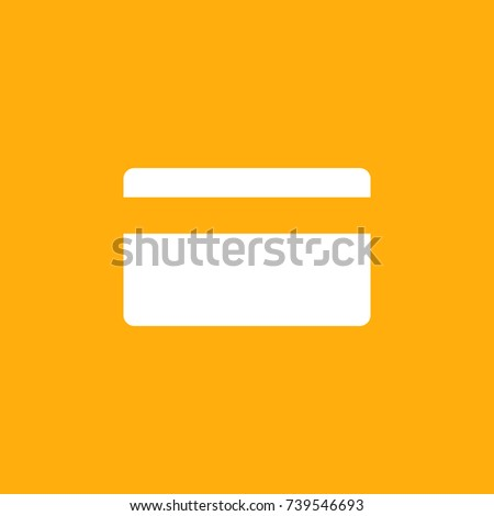 ATM Card Icon Stock Vector (Royalty Free) 739546693