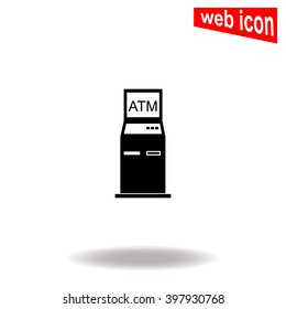 ATM icon.