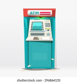 ATM machine - vector illustration