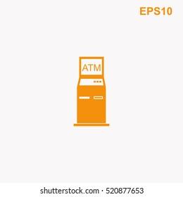 ATM vector icon