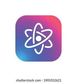 Atom - App Icon Button