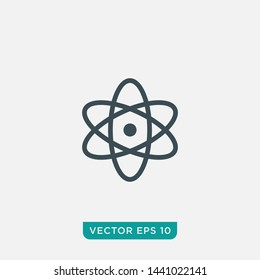 Atom Icon Design, Vector EPS10