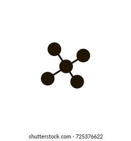 atom icon. sign design