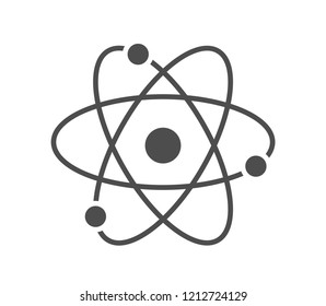 Atom icon . Vector