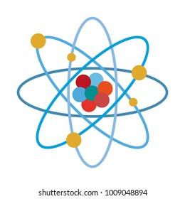 Atom science symbol
