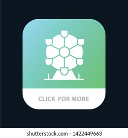 Atomium, Landmark, Monument Mobile App Icon Design