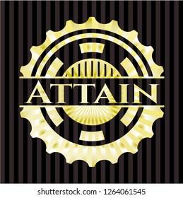 Attain shiny badge