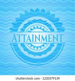 Attainment water badge.