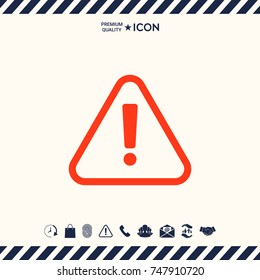 Attention icon