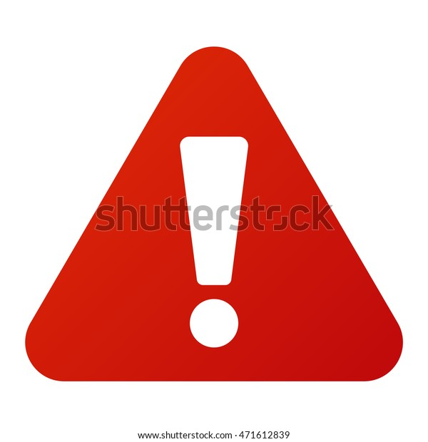 Attention icon danger button and attention warning sign. Web icons design vector illustration