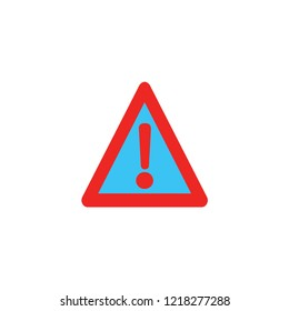 attention triangle icon