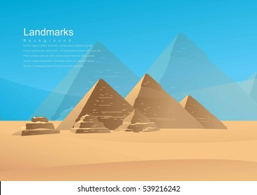 The attractions of Egypt,Wonders of the World,pyramid