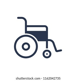 Attractive and Beautifully or Faithfully Designed Wheelchair Icon