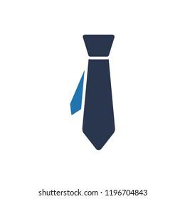 Attractive and Faithfully Designed Necktie / Tie Icon