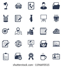 Attractive and Faithfully Designed Office Management Icon Set 1