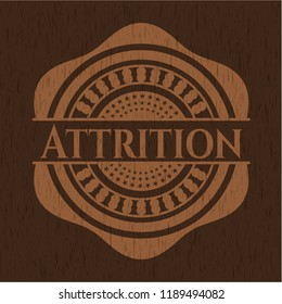 Attrition realistic wood emblem