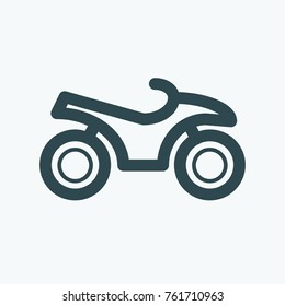 ATV vector icon