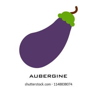 Aubergine icon signs