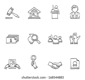 Auction icons in sketch.