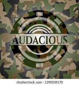 Audacious on camo pattern