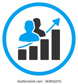 Audience Growth Icon