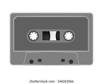Audio cassette icon vector, filled flat sign, solid colorful pictogram isolated on white. Symbol, logo illustration.