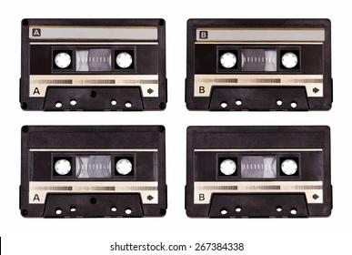 audio cassette, vector