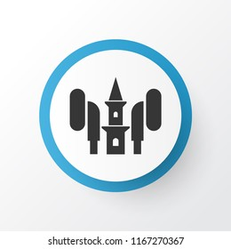 Audio icon symbol. Premium quality isolated azan  element in trendy style.