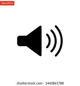 audio sound icon vector design