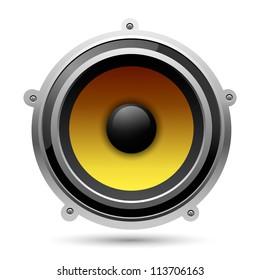 Audio speaker, eps10