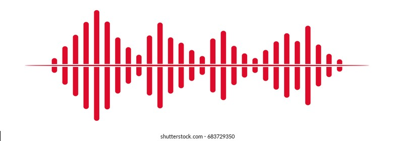 audio wave or sound wave