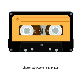 Audiocassette 1980s style