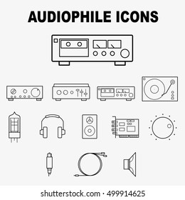 Audiophile icon pack