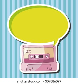 Audiotape theme elements