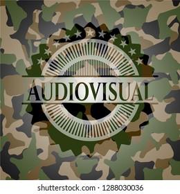Audiovisual camouflage emblem