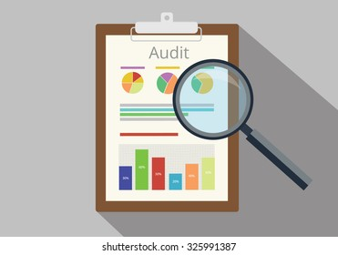 audit graph data analysis result paper result document finance financial report