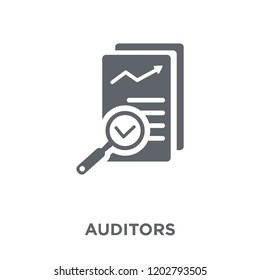 Auditors icon. Auditors design concept from Auditors collection. Simple element vector illustration on white background.
