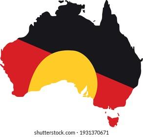 Aussie Flag Vector - Editable flag
