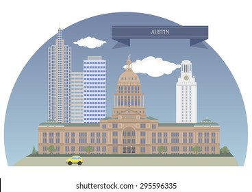 Austin. Capital of the US state of Texas