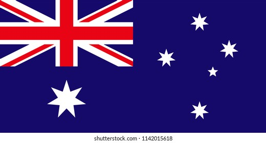 Australia Australian Country Flag Illustration Design